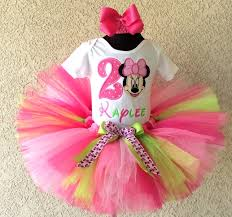 minnie mouse 1st birthday sweet lime pink minnie mouse birthday tutu