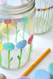 Flower Vase Painting Ideas Mother U0027s Day Vases For Little Hands Lemon Tree Dwelling