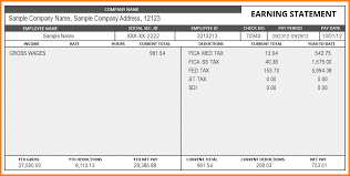 Excel Pay Stub Template Free Free Paystub Template Pay Stub Sle Png Letter Template Word