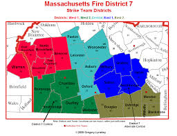Massachusetts Area Code Map by Webster Fire Rescue Webster Massachusetts