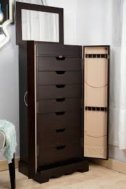 Anti Tarnish Jewelry Armoire Chelsea Jewelry Armoire Espresso Hives And Honey