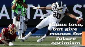 what we learned from the rams u0027 27 20 loss to the washington