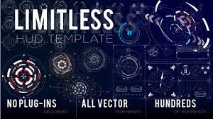 limitless hud template by visual ape videohive