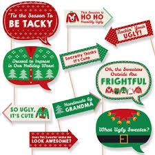 amazon com medium ugly christmas sweater gift bags health