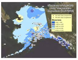 Alaska On A Map by Deep Cold Interior And Northern Alaska Weather U0026 Climate March 2014