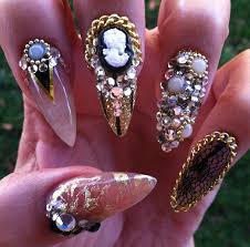 nail art tutorial nail design nail art how to stiletto bling nails