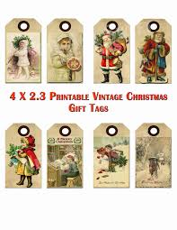 free printable vintage christmas tags google search craft