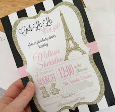 parisian baby shower parisian baby shower invitations iidaemilia