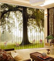 online get cheap 3d curtains scenery aliexpress com alibaba group