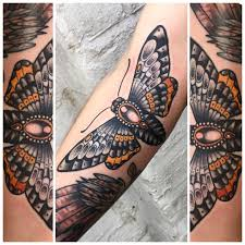 neo traditional moth tattoo tattoos pinterest traditional