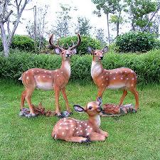 resin crafts simulation animal sculpture garden home garden