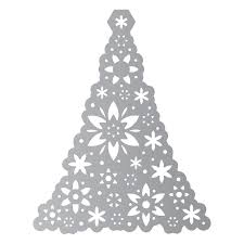 659976 sizzix thinlits die set 1pk ornament tree country view