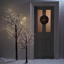 twig christmas tree lumineo christmas twig tree led pre lit 160cm 5ft 3 indoor