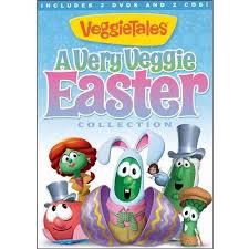 veggie tales easter veggietales a veggie easter collection 2 dvds 2 cds