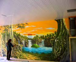 Painted Wall Mural Mural Painting Ideas