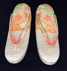japanese orange colour zori geisha sandals 23cm uk size 4