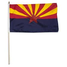 Us Flag For Sale Arizona Flag 12 X 18 Inch