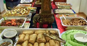 Foods For Christmas Party - catharsis culture on a plate hosting parties abroad filipino style