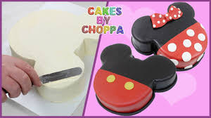 mickey and minnie mouse cake how to youtube