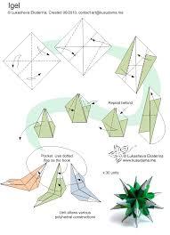 kusudama me modular origami spikes unit origami modular