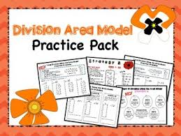area model for long division pack long division division and