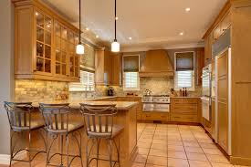 Maple Cabinet Kitchen Honey Maple Cabinets Kitchen Traditional With Bamboo Countertops
