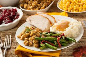 cost of thanksgiving meal in 2017