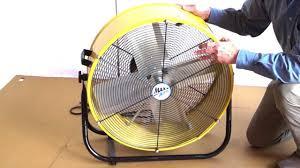 maxxair heavy duty 14 exhaust fan maxxair 24 inch tilt fan youtube