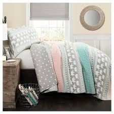 elephant stripe quilt bedding set target