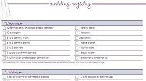 gift registry ideas wedding ultimate wedding registry checklist tbrb info