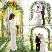 wedding arches edmonton garden arches