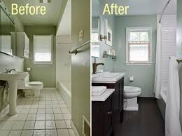 Home Design Before And After Bathroom Amazing Painting Bathroom Tiles Before And After Decor