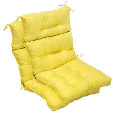 Yellow Patio Chairs by Seat Cushions For Garden Furniture Moncler Factory Outlets Com