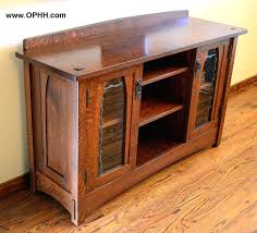 mission style corner tv cabinet craftsman style tv cabinet dutch county mission stand craftsman