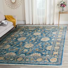 Brown And Turquoise Area Rugs Safavieh Vintage Persian Turquoise Multi 5 Ft X 7 Ft 6 In Area