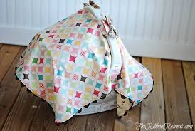 Car Seat Drape Car Seat Canopy Tutorial The Ribbon Retreat Blog