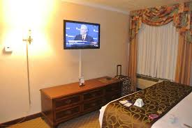 flat screen tv in bedroom picture of best western airport