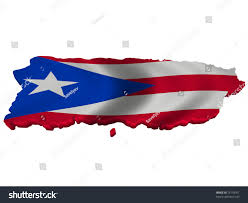 Map Of Puerto Rico by Flag Map Puerto Rico Stock Illustration 73118761 Shutterstock