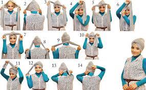 tutorial turban sederhana tutorial hijab modern turban terbaru 2015 new tutorial hijab
