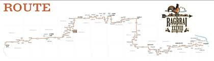 Route Map by Printable Route Map Now Available U2013 Ragbrai
