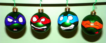 tmnt ornaments the whole mini green by dayandnight90 on