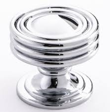 4 Inch Kitchen Cabinet Pulls Buy Polished Chrome Kitchen Cabinet Knobs By Southern Hills 1 3 4