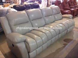 Grey Leather Reclining Sofa by 2017living Room Furniture Grey Leather Recliner Sofa 4 Seater