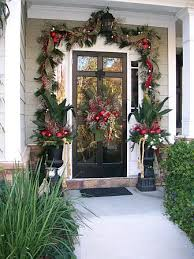 Decorate Outside Urn Christmas by 181 Best Decorating Doors For The Christmas Holidays Images On
