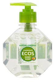 unique soap dispenser ecos hypoallergenic hand soap lemongrass ecos com