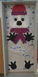 Creative Elementary School Counselor Winter Door Decorations