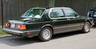 bmw 7 series 735i 1984 auto images and specification