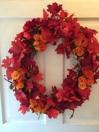 Where To Buy Fall Decorations - easy diy fall wreath diy fall