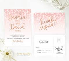 pink and gold wedding invitations beautiful wedding invitations lemonwedding