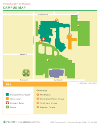 Michigan Campus Map by Campus Maps Promedica Herrick Hospital